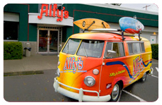 Alfy's Pizza, pizza bus