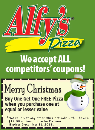 ALFY'S - Voted Best Pizza and Salad Bar